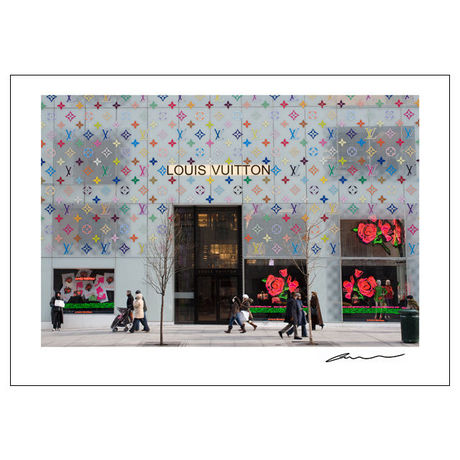 Reproduction Poster_NYC Windows_Louis Vuitton