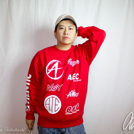 ATEC Logo Sweat Red