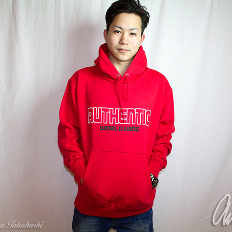 F.M World Hoodie Red