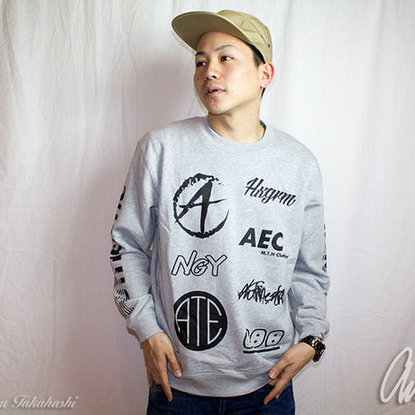 ATEC Logo Sweat Gray