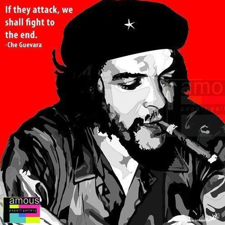 Che Guevara Pop art 10/10inch