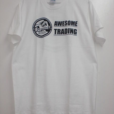 AWESOME TRADING オリジナルTシャツ White