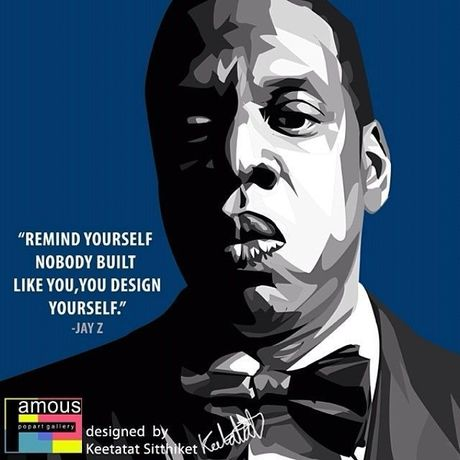 Jay Z Pop art 10/10inch