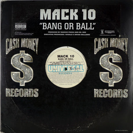 Mack 10 ‎– Bang Or Ball (LP)