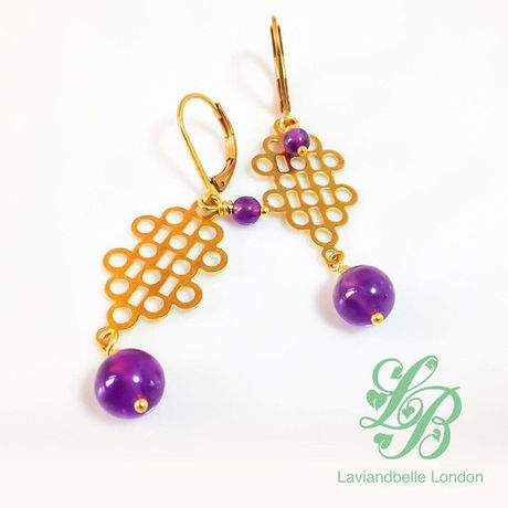 |送料無料|Laviandbelle London/Earrings-03
