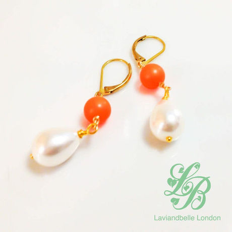 |送料無料|Laviandbelle London/Earrings-01