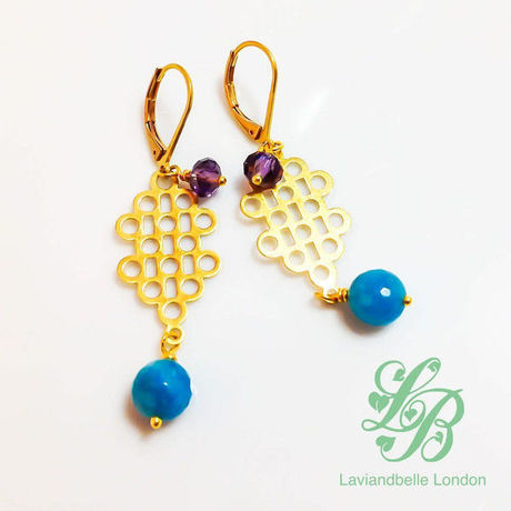 |送料無料|Laviandbelle London/Earrings-04