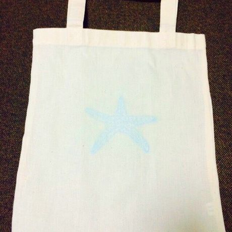 Tote bag starfish(30×28)