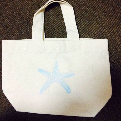 Tote bag starfish(20×30 11)