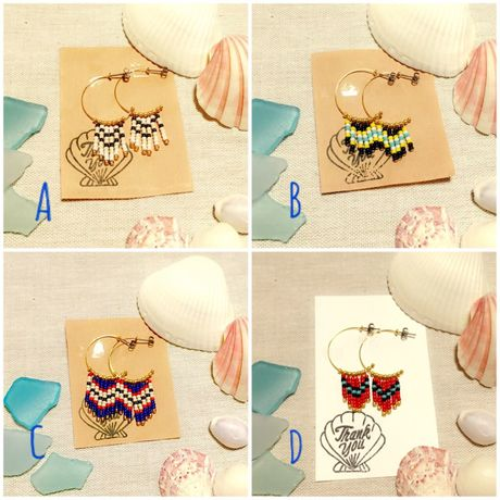 half hoop beads pierce(小)