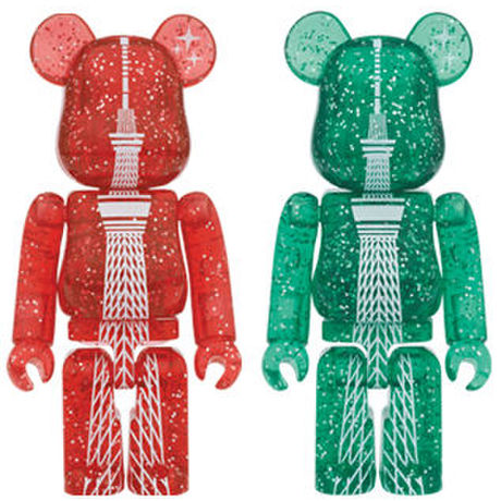 TOKYO SKYTREE(R) 2014 CHRISTMAS Ver. RED/GREEN BE@RBRICK