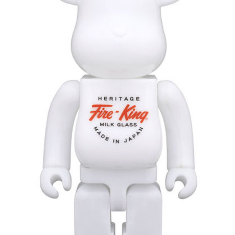 Fire-King 400% WHITE BE@RBRICK