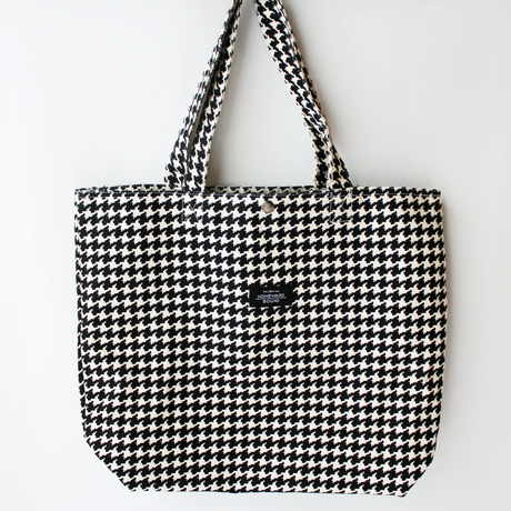 Houndstooth pattern Tote Bag(千鳥柄)