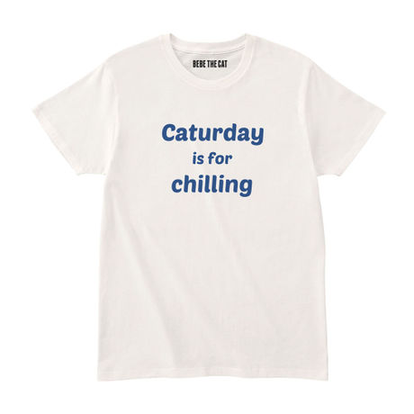 Caturday is for chilling TEE