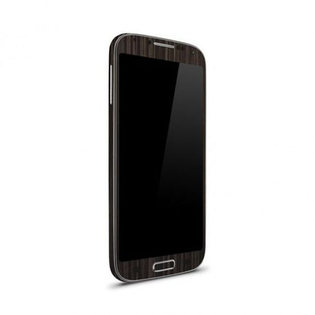 GalaxyS4 木目スキン 液晶保護フィルム付
