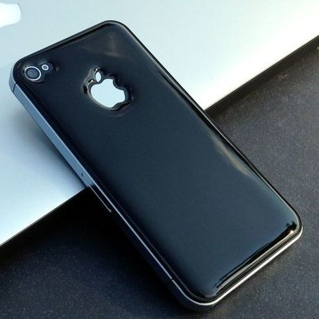 iPhone4/4S グリップスキン 液晶保護フィルム付