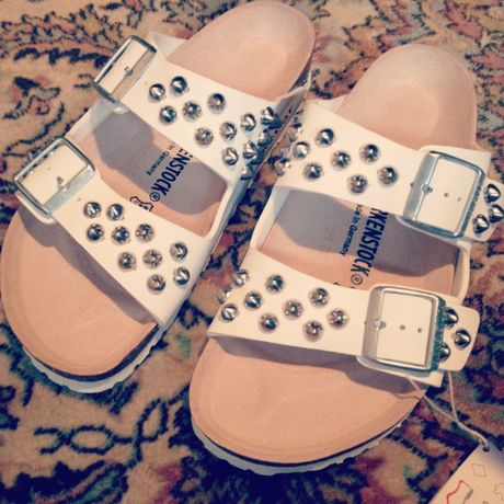 BIRKENSTOCK ARIZONA STUDDED