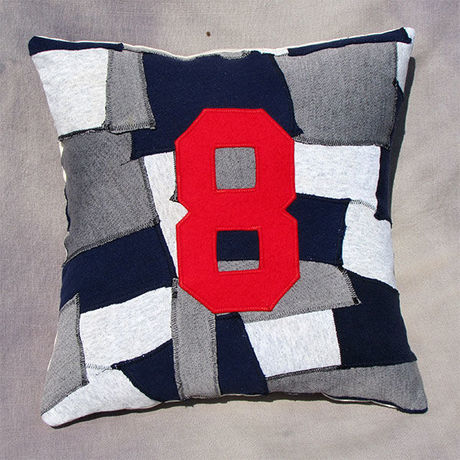 """Patchwork pillow cover """"8"""""""