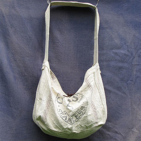 """Vtg Newspaper Bag """"Feedsack"""""""