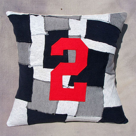 """Patchwork pillow cover """"2"""""""