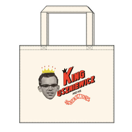 King-U Square tote bag*L*Natural