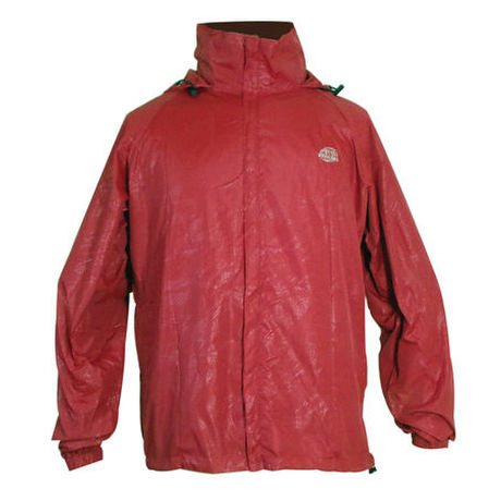 Comfortable Light Parka  Red