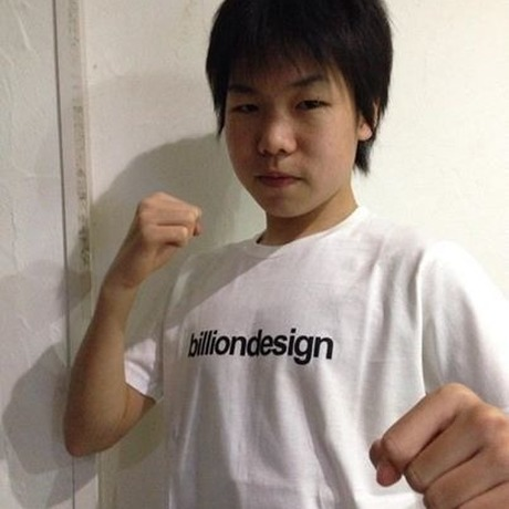 billiondesign T-shirt (白)