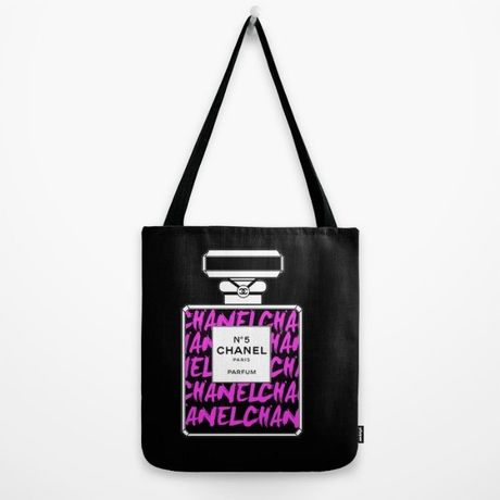 Society6/Artist Tote Bag COCO BLACK