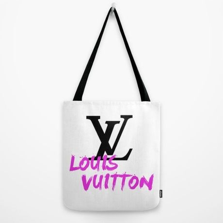 Society6/Artist Tote Bag LV white