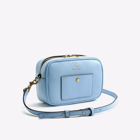 BLEUET ACCESSORY POUCH / BOX【BABY BLUE】