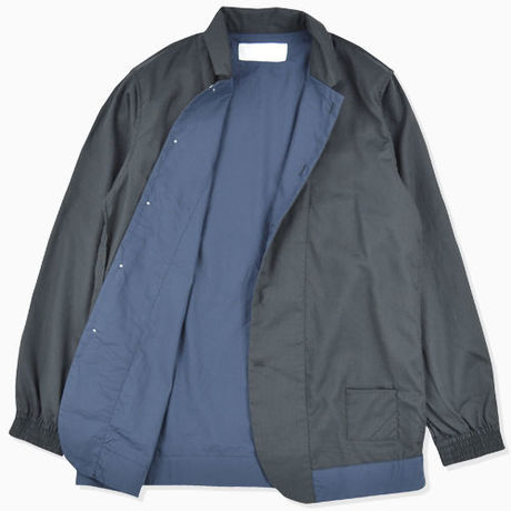 【PHINGERIN】NIGHT SHIRT FILMY(BLACK×NAVY)