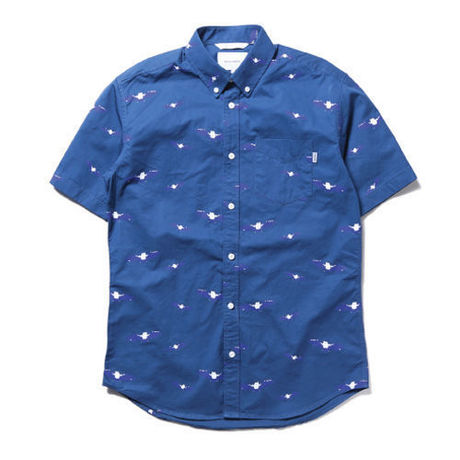 【thisisneverthat】BAT SHIRT BLUE