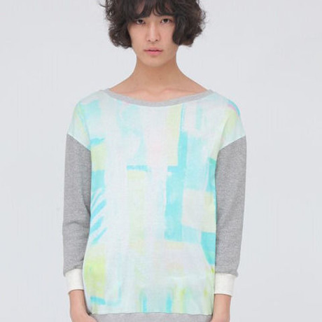 【wed】EMO green Switch Pullover