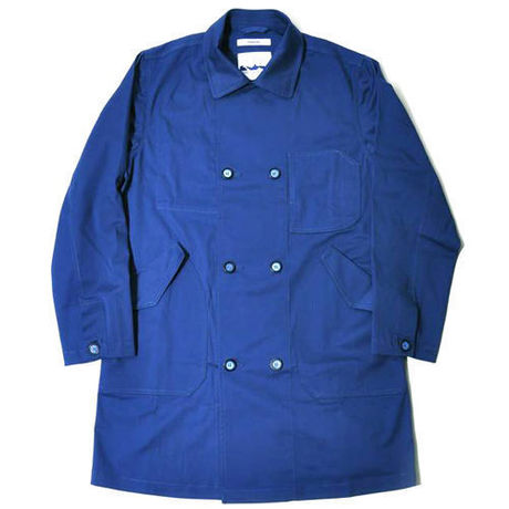 【wisdom】Long Pea-Coat (BLUE)