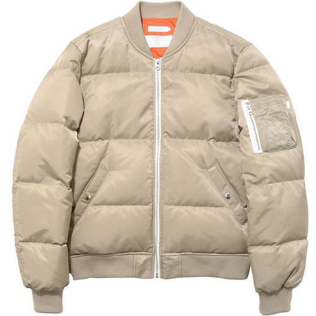 【thisisneverthat】MA 1 DOWN JACKET(BEIGE)