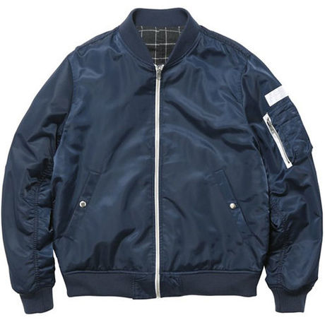 【thisisneverthat】RP REVERSIBLE MA-1(NAVY)