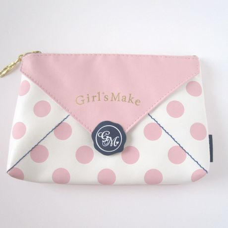 Letter multi pouch PINK