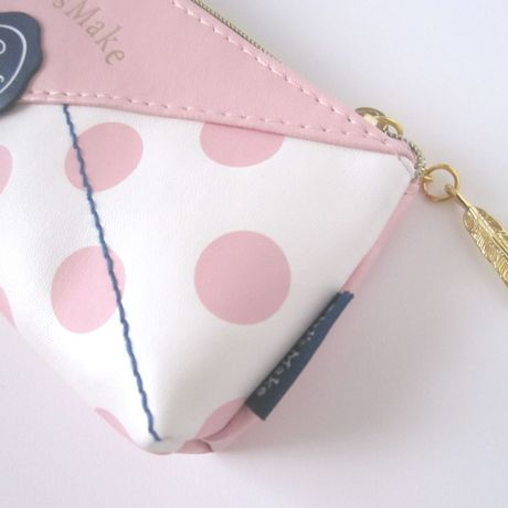 Letter pencil pouch PINK