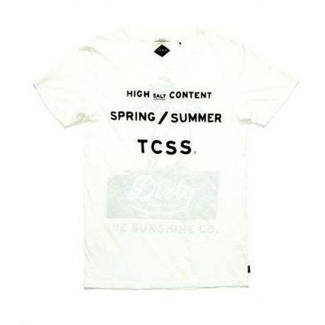 """[ TCSS ] """"SOLTY"""" TEE -BLANC-"""