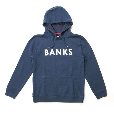 """[ BANKS ] """"CLASSIC"""" PULLOVER  -DIRTY DENIM-"""