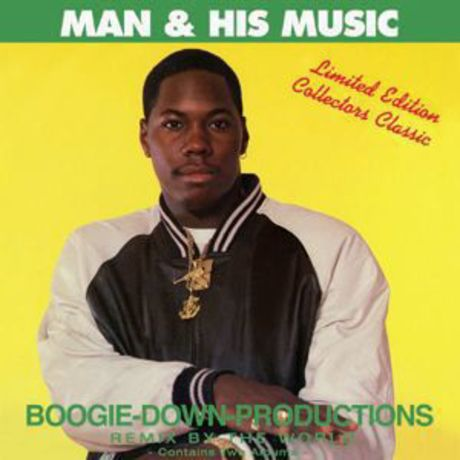 BOOGIE-DOWN-PRODUCTIONS/MAN&HIS MUSIC