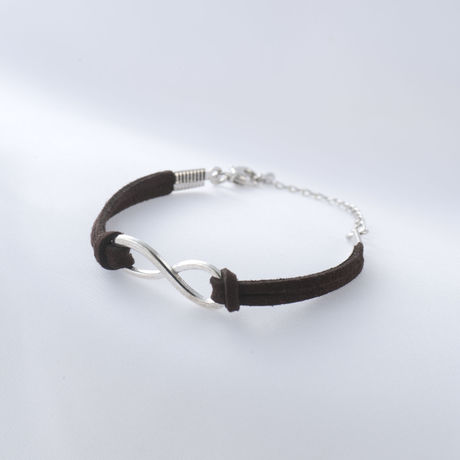 Infinity Bracelet Darkbrown