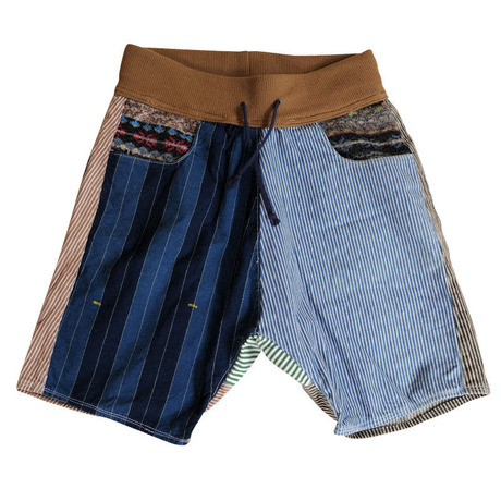 Patch-Half Pants 07