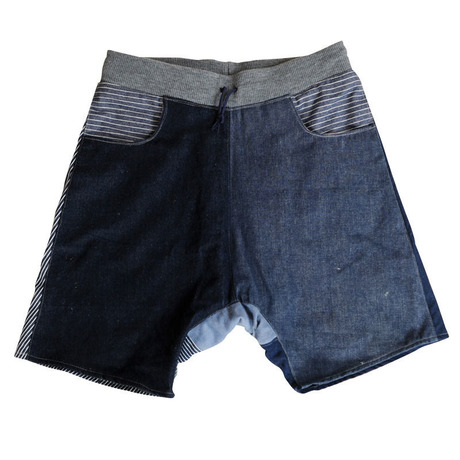 Patch-Half Pants 08