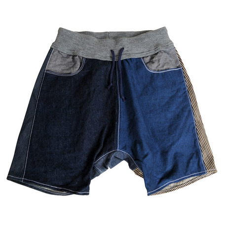 Patch-Half Pants 11