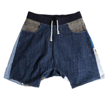 Patch-Half Pants 03