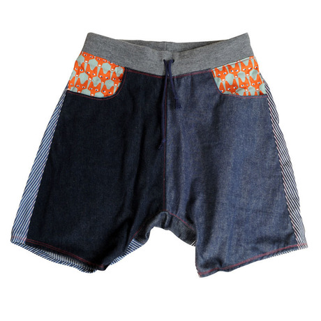 Patch-Half Pants 10