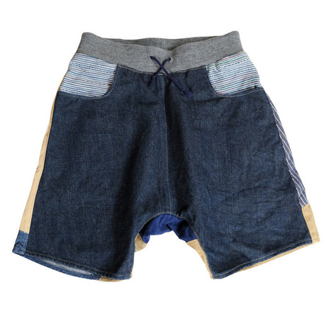 Patch-Half Pants 12