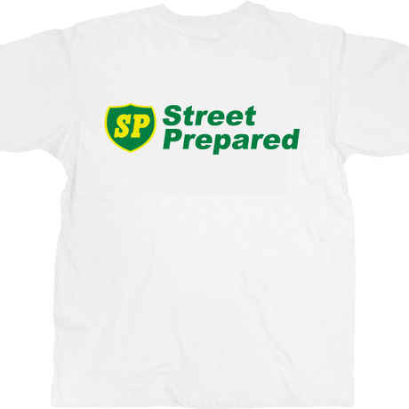 SP002  Street Prepared SP logo T-shirt