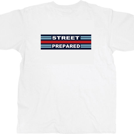 SP007 Street Prepared martini logo T-shirt